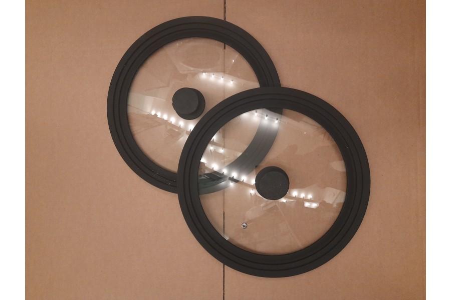 Крышка из жаропрочного стекла
